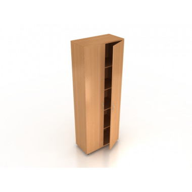 Шкаф закрытый, 72x37x196 см, ПШ-02/1