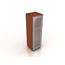 Шкаф узкий со стеклянной дверцей, 35x35x113 см, ЛТ ПШСп-05