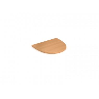 Окончание стола, 50x50x1,6 см, ЛТ ПСП-50