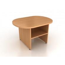 Стол журнальный овальный, 80x60x50 см, СЖ1-08