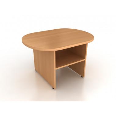 Стол журнальный овальный, 80x60x50 см, ПСЖ1-08