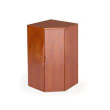 Шкаф угловой 2 полки, низкий, закрытый 63x63x121 см, ПШ-12 + ПДШ-05