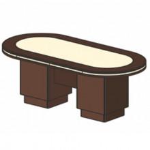 Стол для заседаний, 200x120x78 см, И350