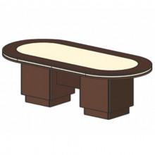 Стол для заседаний, 250x120x78 см, И351