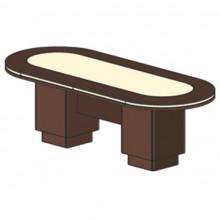 Стол для заседаний, 240x100x78 см, И352