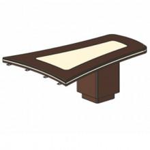 Стол приставной (брифинг), 207,4/200x119,6x78 см, И379