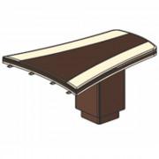 Стол приставной (брифинг), 147,4/140x119,6x78 см, И382
