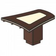 Стол приставной (брифинг), 127,4/120x119,6x78 см, И383
