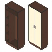 Шкаф гардеробный, 80,1x42x200 см, И490