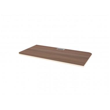 Столешница для подстолья левая, 125x65x2,2 см, Б310Л