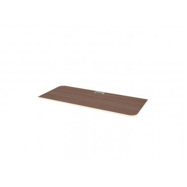 Столешница для подстолья левая, 155x65x2,2 см, Б330Л