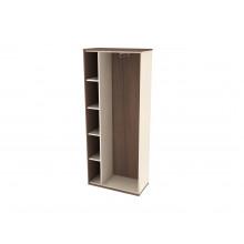 Шкаф-гардероб без дверей боковой, 80x40x193,9 см, Б490