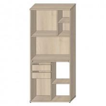 Стеллаж кухонный открытый, 80,6x43,6x185,8 см, Т400/К