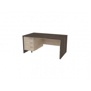 Стол письменный, 160x90x74 см, П34КЛ/П