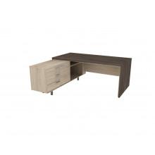 Стол письменный, 180x180x74 см, П35ДЛ/П