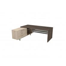 Стол письменный, 200x180x74 см, П36ДМЛ/П