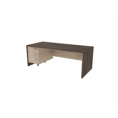 Стол письменный, 200x90x74 см, П36КЛ/П