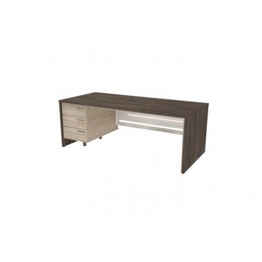 Стол письменный, 200x90x74 см, П36КМЛ/П