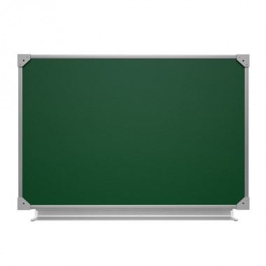 Доска меловая одноэлементная, 75x50 см, ДО-10з, ДК-10з
