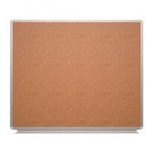 Доска пробковая для объявлений, 120x100 см, ДИ-16Еп