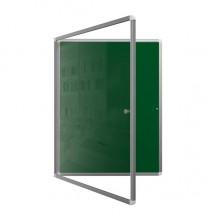 Доска-витрина магнитно-меловая, 100x75 см, ДВ-11Ез