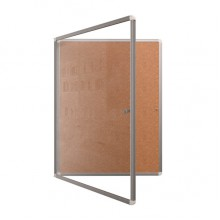 Доска-витрина пробковая, 100x75 см, ДВ-11Еп