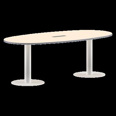 Конференц-стол, 2200х1100х750 , ПРГ-3