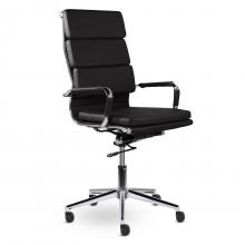 Кресло руководителя Кайман СН-303 Трио В хром