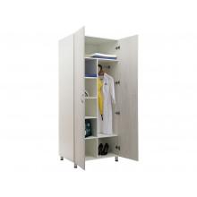 Шкаф для одежды MW 2 1980 Белое дерево