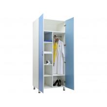 Шкаф для одежды MW 2 1980 Голубой