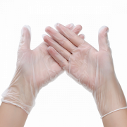 Перчатки одноразовые (размер M), упаковка 100 шт.